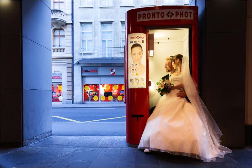 Brautpaar Fotoshooting in Basel