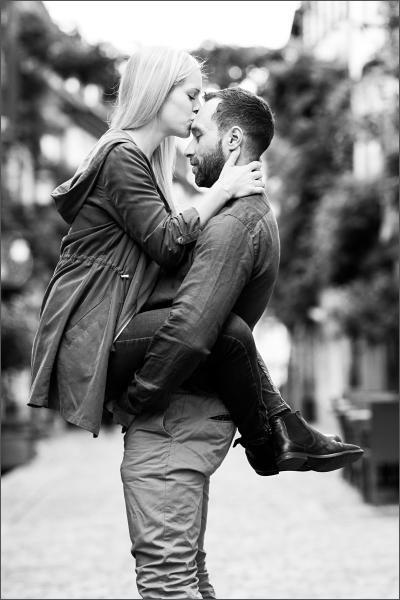 Kuss in Freiburg